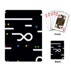 Line Circle Triangle Polka Sign Playing Card by Mariart