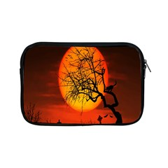 Helloween Midnight Graveyard Silhouette Apple Ipad Mini Zipper Cases by Mariart