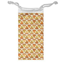 Food Pizza Bread Pasta Triangle Jewelry Bag by Mariart