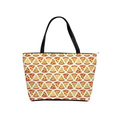 Food Pizza Bread Pasta Triangle Shoulder Handbags by Mariart