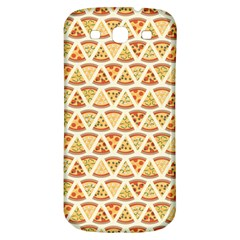 Food Pizza Bread Pasta Triangle Samsung Galaxy S3 S Iii Classic Hardshell Back Case by Mariart
