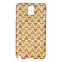 Food Pizza Bread Pasta Triangle Samsung Galaxy Note 3 N9005 Hardshell Case by Mariart