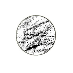 Ink Splatter Texture Hat Clip Ball Marker (10 Pack) by Mariart