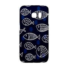 Love Fish Seaworld Swim Blue White Sea Water Cartoons Galaxy S6 Edge by Mariart