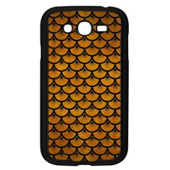 Scales3 Black Marble & Yellow Grunge Samsung Galaxy Grand Duos I9082 Case (black) by trendistuff