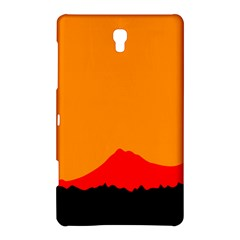 Mountains Natural Orange Red Black Samsung Galaxy Tab S (8 4 ) Hardshell Case  by Mariart