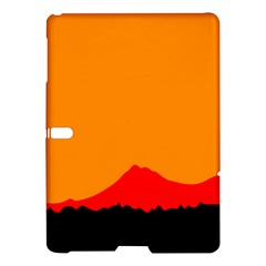 Mountains Natural Orange Red Black Samsung Galaxy Tab S (10 5 ) Hardshell Case