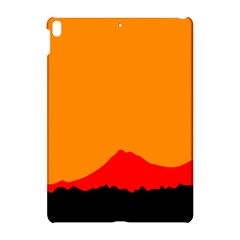 Mountains Natural Orange Red Black Apple Ipad Pro 10 5   Hardshell Case by Mariart