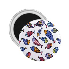 Love Fish Seaworld Swim Rainbow Cartoons 2 25  Magnets by Mariart