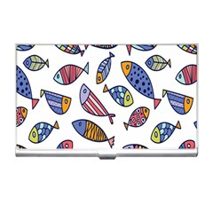 Love Fish Seaworld Swim Rainbow Cartoons Business Card Holders