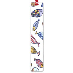 Love Fish Seaworld Swim Rainbow Cartoons Large Book Marks by Mariart