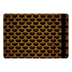 Scales3 Black Marble & Yellow Grunge (r) Apple Ipad Pro 10 5   Flip Case by trendistuff