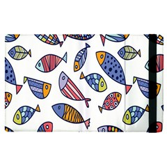 Love Fish Seaworld Swim Rainbow Cartoons Apple Ipad Pro 9 7   Flip Case