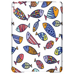 Love Fish Seaworld Swim Rainbow Cartoons Apple Ipad Pro 9 7   Hardshell Case