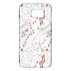Musical Scales Note Galaxy S6 by Mariart