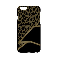 Polka Spot Grey Black Apple Iphone 6/6s Hardshell Case by Mariart