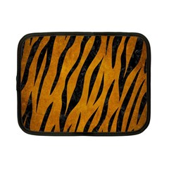 Skin3 Black Marble & Yellow Grunge Netbook Case (small)  by trendistuff