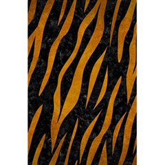 Skin3 Black Marble & Yellow Grunge (r) 5 5  X 8 5  Notebooks by trendistuff