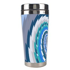Psycho Hole Chevron Wave Seamless Stainless Steel Travel Tumblers by Mariart