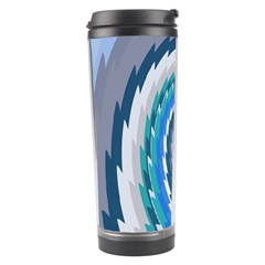 Psycho Hole Chevron Wave Seamless Travel Tumbler by Mariart
