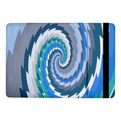 Psycho Hole Chevron Wave Seamless Samsung Galaxy Tab Pro 10 1  Flip Case by Mariart
