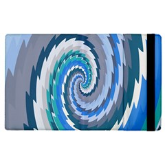Psycho Hole Chevron Wave Seamless Apple Ipad Pro 9 7   Flip Case by Mariart