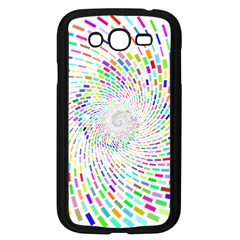 Prismatic Abstract Rainbow Samsung Galaxy Grand Duos I9082 Case (black)