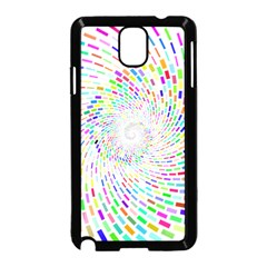 Prismatic Abstract Rainbow Samsung Galaxy Note 3 Neo Hardshell Case (black) by Mariart
