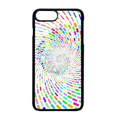 Prismatic Abstract Rainbow Apple Iphone 8 Plus Seamless Case (black)