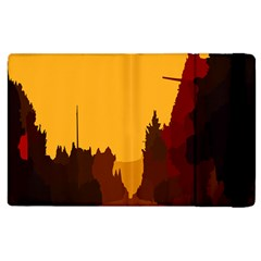 Road Trees Stop Light Richmond Ace Apple Ipad 3/4 Flip Case by Mariart