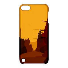 Road Trees Stop Light Richmond Ace Apple Ipod Touch 5 Hardshell Case With Stand by Mariart