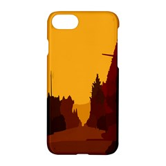 Road Trees Stop Light Richmond Ace Apple Iphone 8 Hardshell Case