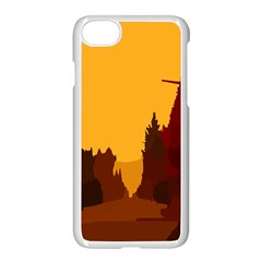 Road Trees Stop Light Richmond Ace Apple Iphone 8 Seamless Case (white) by Mariart