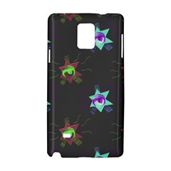 Random Doodle Pattern Star Samsung Galaxy Note 4 Hardshell Case by Mariart
