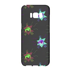 Random Doodle Pattern Star Samsung Galaxy S8 Hardshell Case  by Mariart