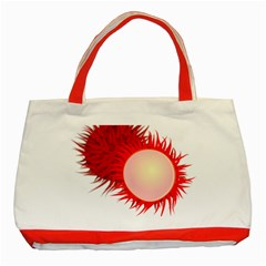 Rambutan Fruit Red Sweet Classic Tote Bag (red) by Mariart