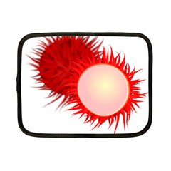 Rambutan Fruit Red Sweet Netbook Case (small)  by Mariart