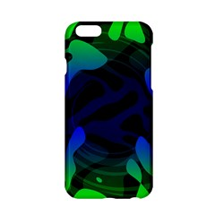 Spectrum Sputnik Space Blue Green Apple Iphone 6/6s Hardshell Case by Mariart