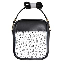 Star Doodle Girls Sling Bags