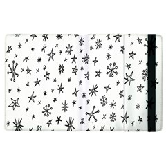 Star Doodle Apple Ipad 3/4 Flip Case by Mariart