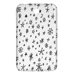 Star Doodle Samsung Galaxy Tab 3 (7 ) P3200 Hardshell Case  by Mariart