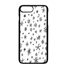 Star Doodle Apple Iphone 7 Plus Seamless Case (black) by Mariart