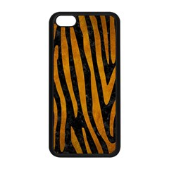 Skin4 Black Marble & Yellow Grunge Apple Iphone 5c Seamless Case (black) by trendistuff