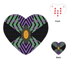 Secret Code Formula Sun Playing Cards (heart)  by Mariart