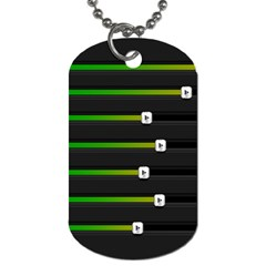 Stock Illustration Rendering Seven Volume Dog Tag (two Sides) by Mariart