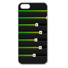 Stock Illustration Rendering Seven Volume Apple Seamless Iphone 5 Case (clear) by Mariart