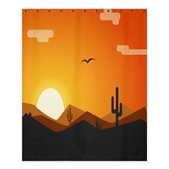 Sunset Natural Sky Shower Curtain 60  X 72  (medium)  by Mariart