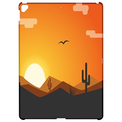 Sunset Natural Sky Apple Ipad Pro 12 9   Hardshell Case by Mariart