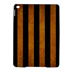 Stripes1 Black Marble & Yellow Grunge Ipad Air 2 Hardshell Cases by trendistuff