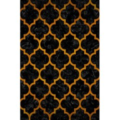 Tile1 Black Marble & Yellow Grunge (r) 5 5  X 8 5  Notebooks by trendistuff